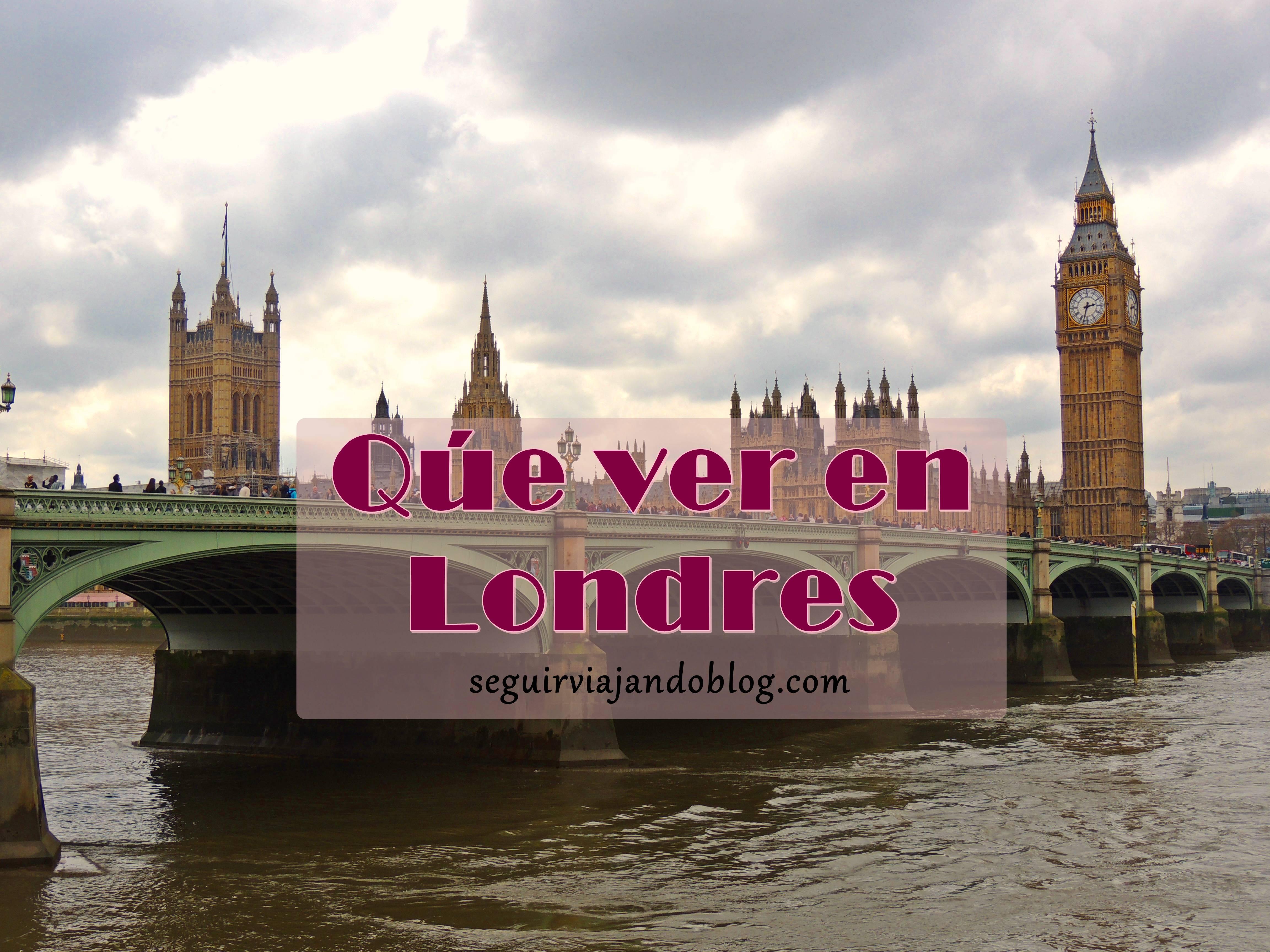 Miniatura qué ver en Londres