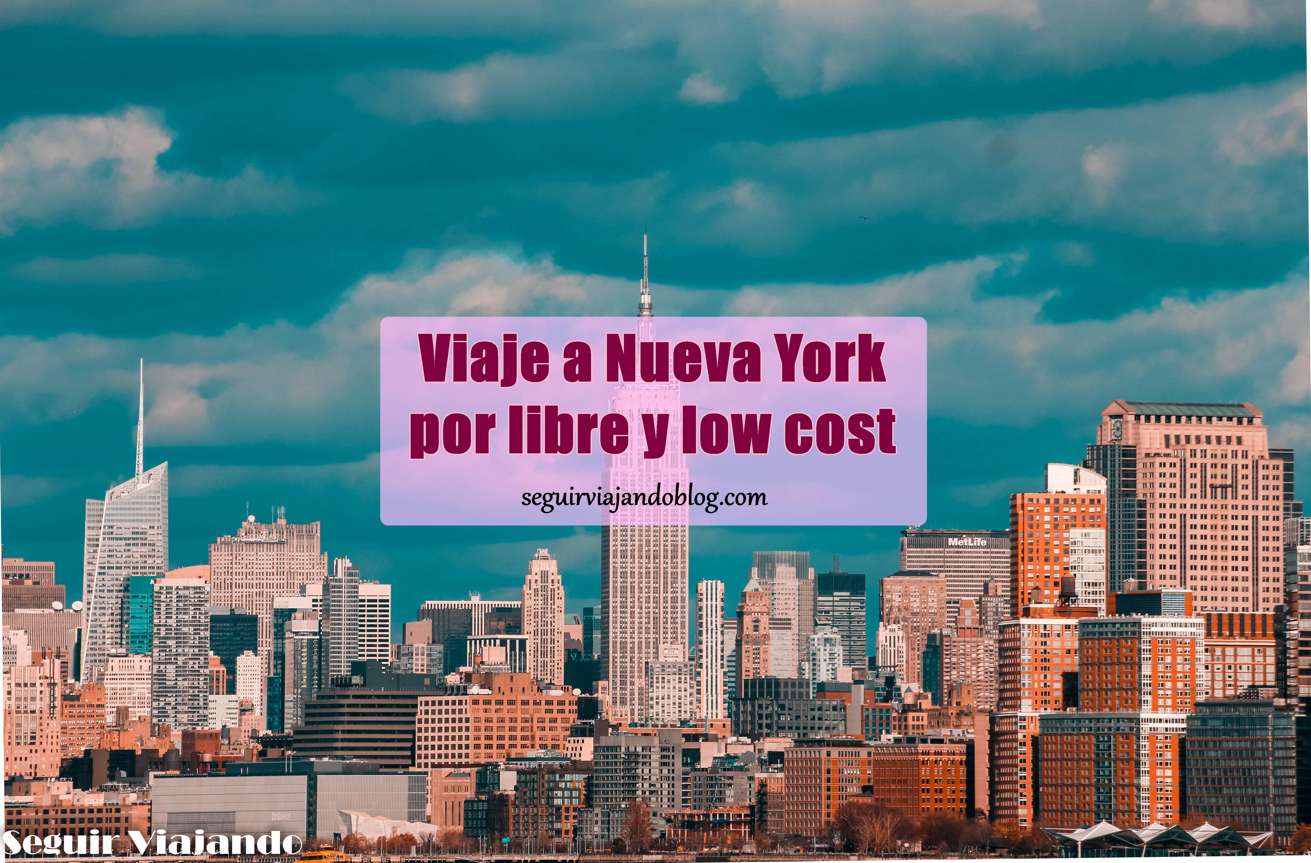 Miniatura organizar viaje a NYC - seguirviajando