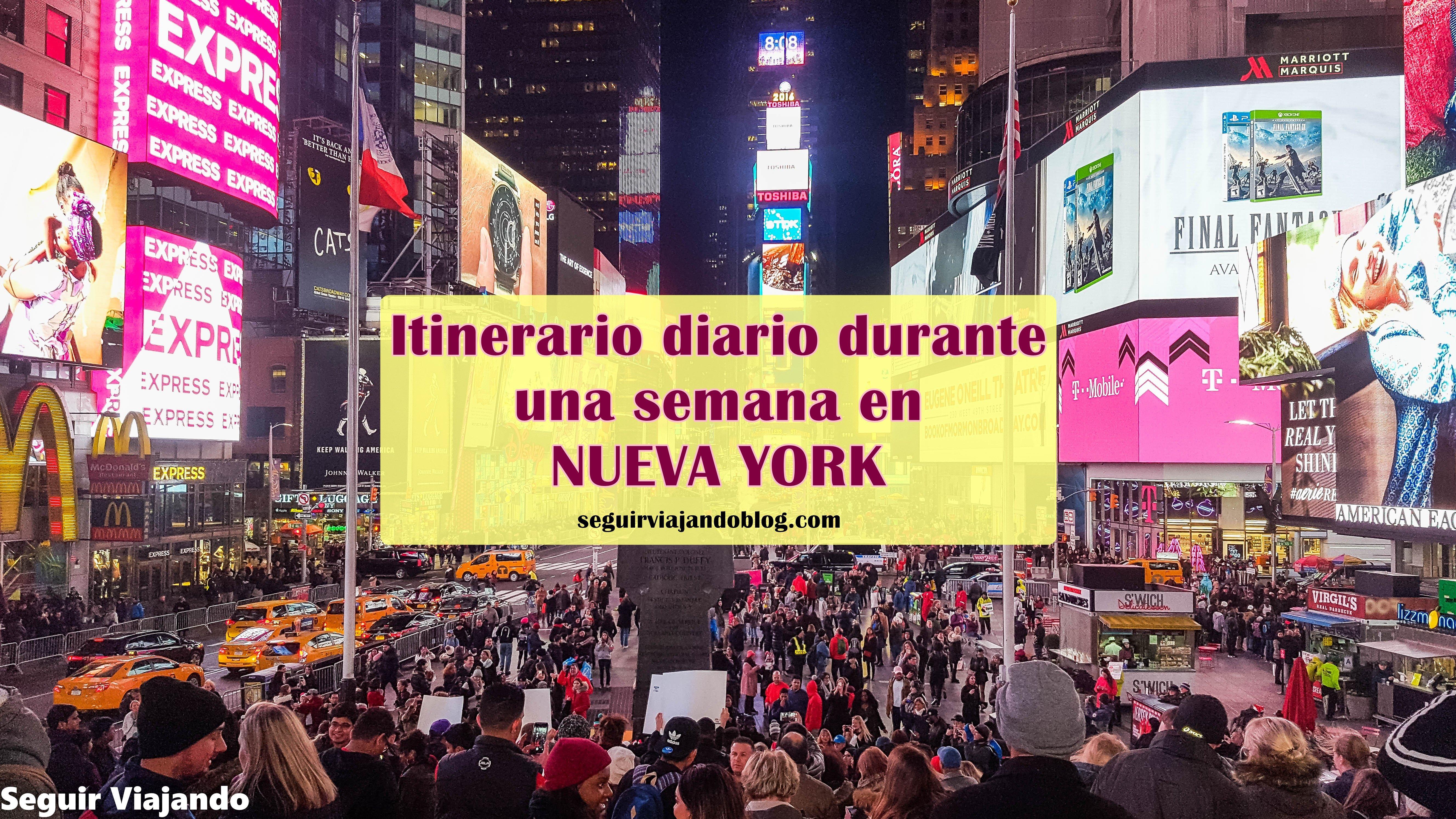 Ruta por Nueva York