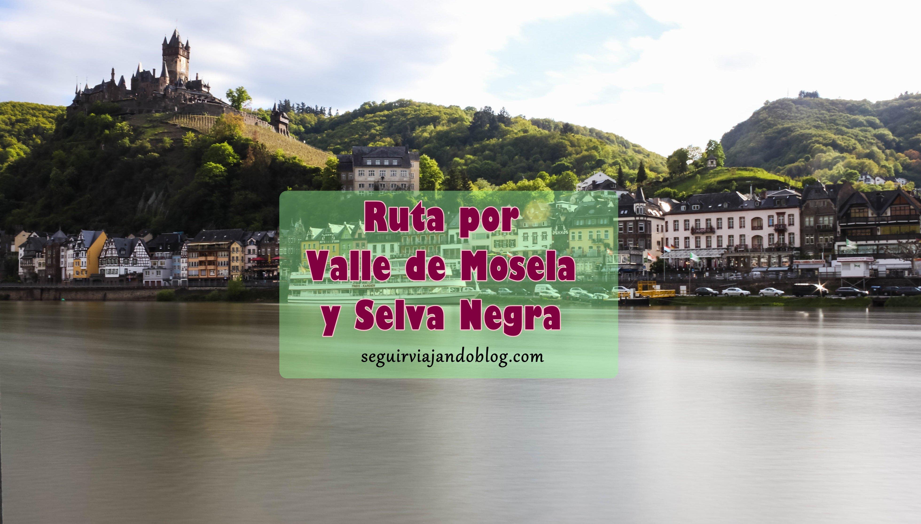 Ruta Valle de Mosela y Selva Negra