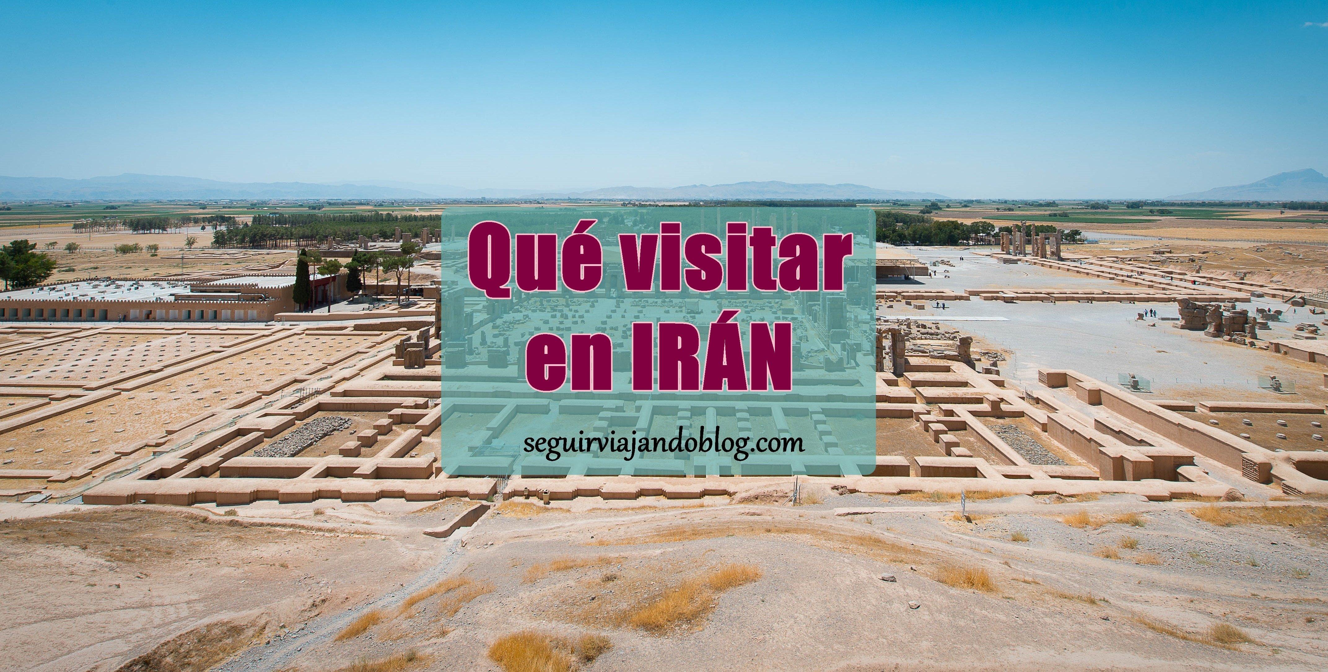 Miniatura qué visitar en Irán - seguirviajando